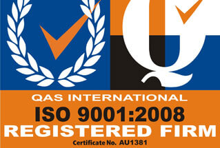 Fully ISO Accredited